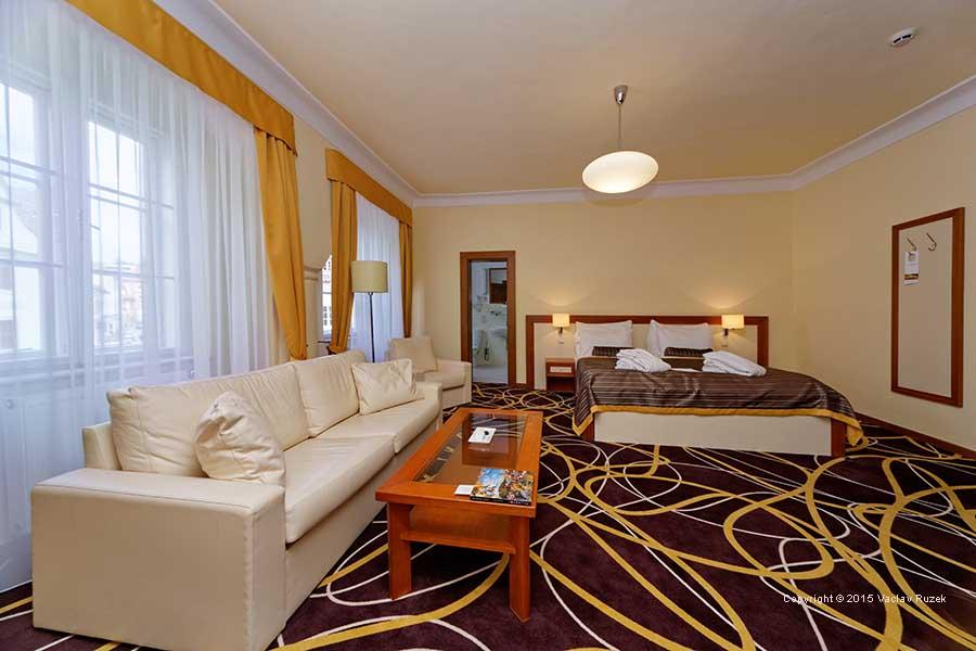 Hotel Bellevue (Zur Stadt Wien) in Krumau